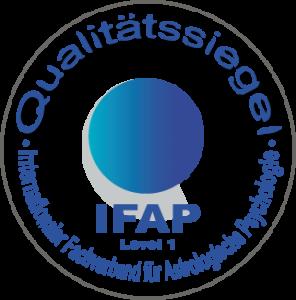 IFAP Qualität-Siegel